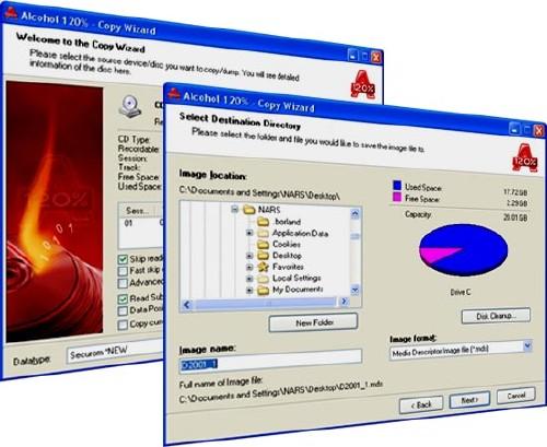 8.7612. Alcohol 120% позволяет создавать виртуальные CD и DVD диски и проиг
